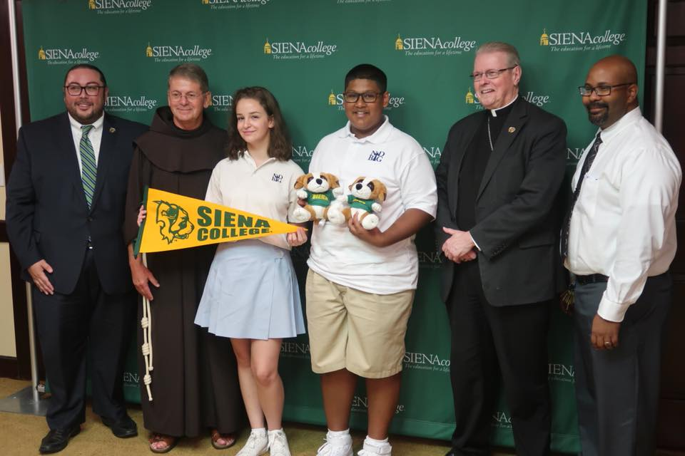 ND-BG & Siena College form Early Assurance and College Planning Partnership