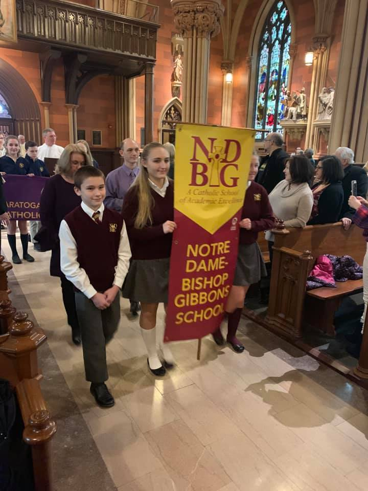 ND-BG Represented at Catholic Schools Week Liturgy