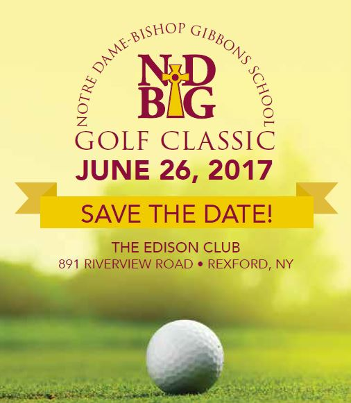Announcing: ND-BG Golf Classic 2017